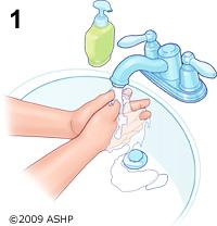Rửa sạch tay chân trước khi đặt thuốc trị viêm âm đạo