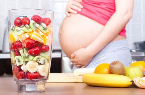 tăng cân ở thai phụ
