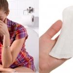 Sử dụng băng vệ sinh hàng ngày để khắc phục nhanh nếu đèn đỏ đến bất ngờ