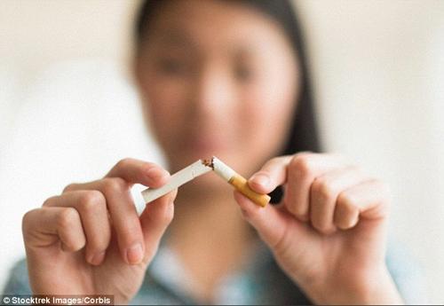 Các bước đầu tiên để thụ thai bất cứ khi nào là không hút thuốc