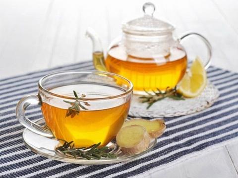 Uống trà gừng mỗi buổi sáng để thanh lọc cơ thể