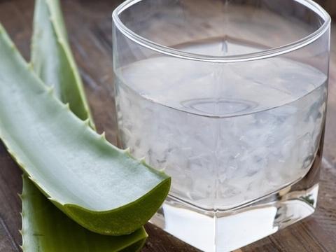 Uống nước nha đam mỗi buổi sáng để thanh lọc cơ thể